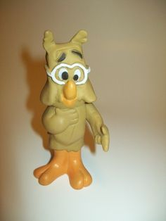 Howland Owl from Walt Kelly's Pogo Comic Strip. Figure is a Proctor and Gamble Detergent Premium.