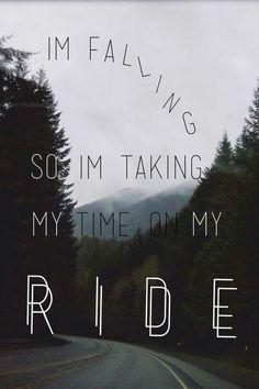 Image de ride, twenty one pilots, and Lyrics