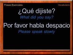 Essential Phrases in Spanish | Everyday Phrases in Spanish | Spanish Vocabulary | Learn Spanish - YouTube