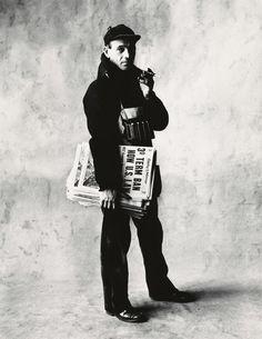 Irving Penn, 'News Dealer', New York-1951, Pace/MacGill Gallery | Artsy