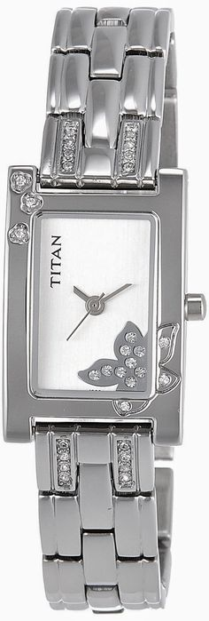 Titan Raga Analog Silver Dial Women's Watch