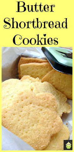 Butter Shortbread Cookies - so easy to make...impossible to resist! | Lovefoodies.com