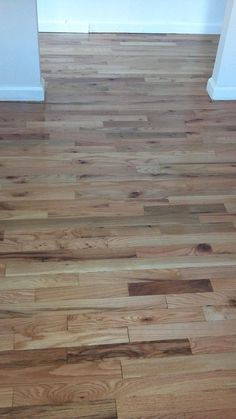red oak natural finish with oil base