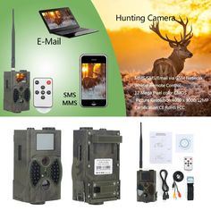 76.19$  Watch more here - http://ai94q.worlditems.win/all/product.php?id=1000001113151 - Waterproof GSM MMS Email 12mp 940nm night vision outdoor hunting camera HC300M
