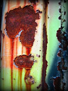 colorful rust