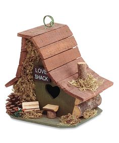 Another great find on #zulily! Lover's Hideout Birdhouse by Zingz & Thingz #zulilyfinds