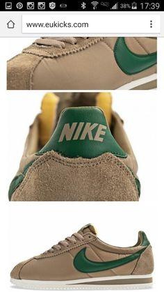competitive price 1195e cb495 Nike Classic Cortez Vntg – Khaki Gorge Green