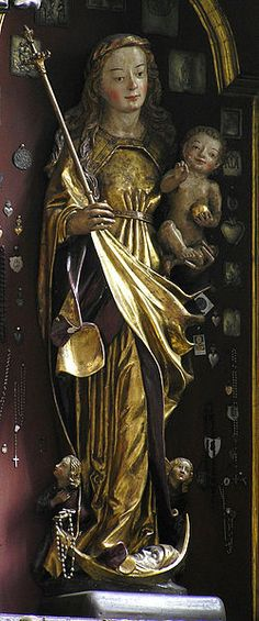 Torun kosciol sw Jakuba Madonna z dzieciatkiem ok 1500