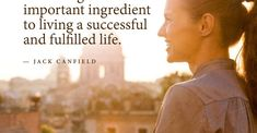 Key to a successful life by Jack Canfield