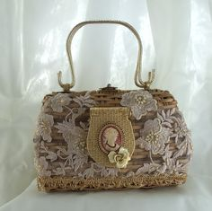 Formal Basket Purse Haute Couture Vintage with von HopscotchCouture, $237.00