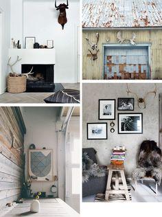 Modern + Clean Rustic Lodge Style