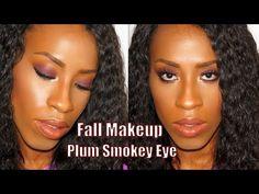 Fall Makeup Tutorial | Plum Smokey Eye | Neutral Lips Ft.Coastal Scents