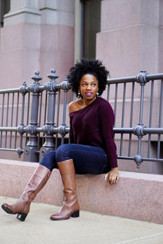 dd93b32ad53 In Her Shoes  Psyche of Economy of Style Shows Off the Knee-High Frances  Boot