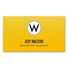 Gold Modern Halftone Business Cards Business Card Template. Make your own business card with this great design. All you need is to add your info to this template. Click the image to try it out!