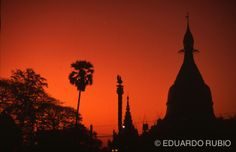 La pagoda de Mandalay...