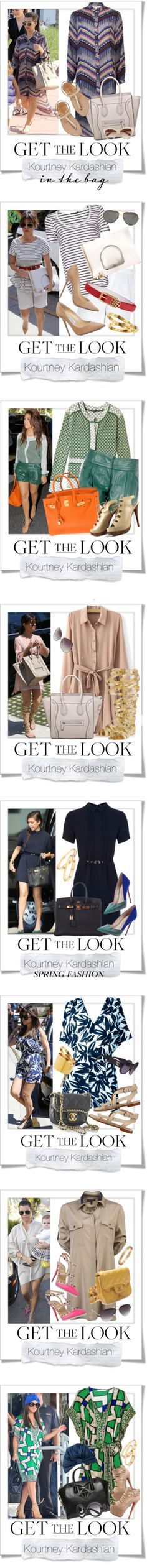 """Kourtney Kardashian"" by renatademarchi ❤ liked on Polyvore"