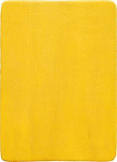 Untitled Yellow Monochrome - Yves Klein, 1956