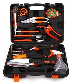 Try This:  Agile shop 12 piece Professional Garden Tools Set