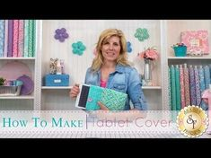 Get Creative with Jen: How to Make a Tablet Cover Quilting Tutorials, Quilting Projects, Sewing Tutorials, Sewing Projects, Diy Envelope, Envelope Clutch, Bible Cases, Tablet Cover, Ipad Tablet