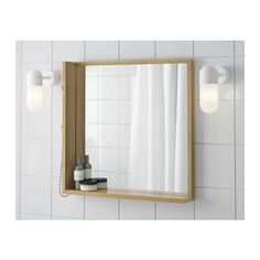 RÅGRUND Mirror  - IKEA - for your bathroom? check size $59.99.  like the light wood to match the vinyl flooring