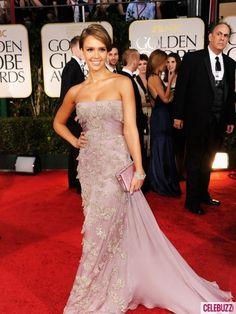 Jessica Alba's dress at 2012 Golden Globes. Love it!