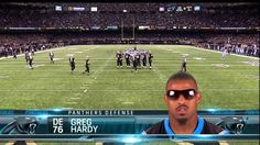 Apparently Greg Hardy went to Hogwarts