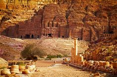 June 10, 2016. A new discovery in the magnificent ancient city of Petra, Jordan. Check story in Ancient Origins article.