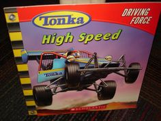 TONKA HIGH SPEED DRIVING FORCE, A SCHOLASTIC YOUNG READER, SC READ