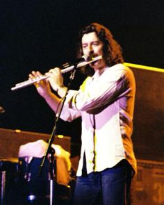 Ray Thomas from The Moody Blues on flute