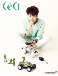 Ryeowook expresses his passion for his musical through an interview with 'CeCi' | http://www.allkpop.com/article/2014/05/ryeowook-expresses-his-passion-for-his-musical-through-an-interview-with-ceci