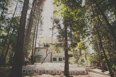 A Handmade Wedding in the Woods: Christine + Ian | Green Wedding Shoes Wedding Blog | Wedding Trends for Stylish + Creative Brides