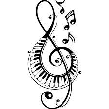 "Résultat de recherche d'images pour ""image notes de musique"" Treble Clef Tattoo, Note Tattoo, Laser Art, Music Drawings, Nordic Tattoo, Wood Burning Patterns, Music Tattoos, Tatoos, Art Plastique"