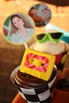 """""""Saved By The Bell"""" birthday party! Found via Kara's Party Ideas - www. 80s Birthday Parties, 90s Party, Disco Party, 80th Birthday, Back To School Party, School Parties, Decade Party, Adult Party Themes, 80s Theme"""