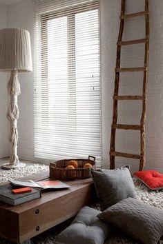 houten horizontale lamellen