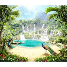 Fotomurales: Paraíso tropical