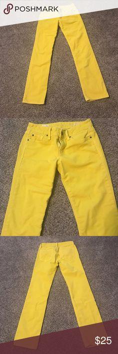 Gap Mustard Cords Gap 1969 Mustard Corduroy 5 Pocket Real Straight Pants.  Great Color!!! 83% Cotton, 16% Poly, 1% Spandex GAP Pants Straight Leg