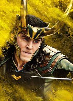 Loki character poster for Thor: Ragnarok. Enlarge image (HQ): https://wx2.sinaimg.cn/large/6e14d388gy1fjbbblsg0aj20zk1fwqij.jpg (Via Torrilla: https://m.weibo.cn/status/4149454179044783 )