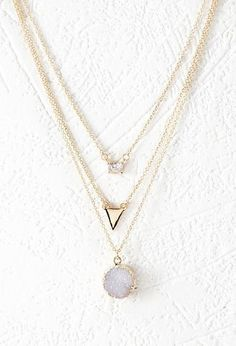 Simple and Modern Layer Necklaces