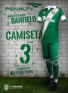 Camisas do Banfield 2015 Penalty