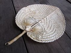 Woven Nature Color Fan Vintage Style for this by GiftGoGreen, $5.90