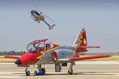 Patrulla Águila & Patrulla Aspa - Fuerza Aerea Española (Ejército del Aire de España) by Jose A. Bejarano