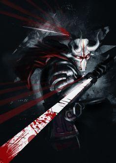 Juggernaut - The Exiled Ronin Dota Warcraft, Warcraft Art, Dark Fantasy, Fantasy Art, Juggernaut Dota 2, Character Concept, Concept Art, Dota2 Heroes, Dota 2 Wallpapers Hd