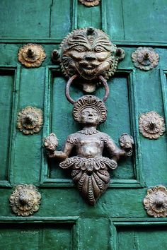 Peruvian Door Decor 1 Photograph - Peruvian Door Decor 1 Fine Art Print