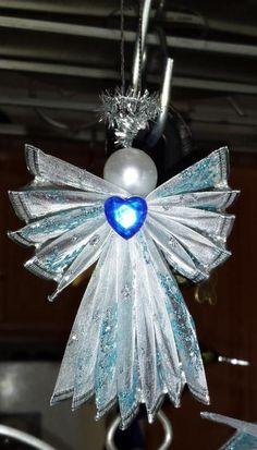 WIRED RIBBON ANGEL | Craftsy