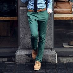 $19.89 / Mens Fashion Slim Fit Cotton Casual Dress Pants via martEnvy. Click on the image to see more! / FREE SHIPPING