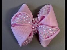 Best Ideas for hair art tutorial faces Diy Lace Ribbon Flowers, Ribbon Art, Ribbon Crafts, Ribbon Bows, Fabric Flowers, Bow Making Tutorials, Baby Doll Shoes, Hair Bow Tutorial, Silk Ribbon Embroidery