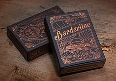 Borderline Playing Cards by Traina Design - I think this design is very interesting. It's very detailed, but not too busy. I like the font choice; it works well with the design.