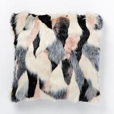 Faux Fur Foxy Pillow Cover | west elm