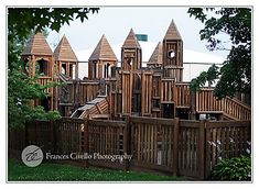 The Cocoa Castle playground in Hershey, PA. Arthur would be excited about visiting!