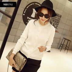 2015 spring new style ladies round neck knit cardigan jacket Spring A096G USD$20.80